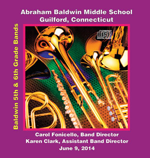 Baldwin Middle School CD Cover