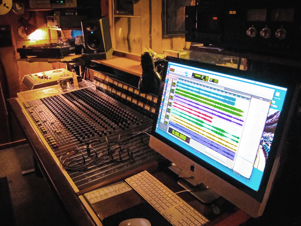 Photo of Pro Tools Workstation and Console